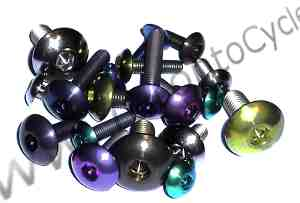 Titanium Shallow Button Head Bolts