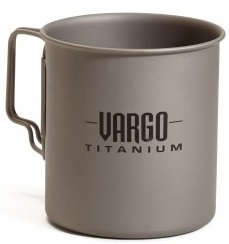 Vargo 450ml Titanium Travel Mug