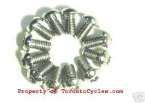 Titanium Torx Disc Brake Rotor Bolts M5 Threads - T25 socket