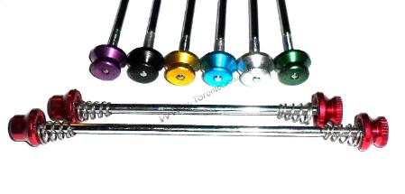 Alloy Bolt On Skewers